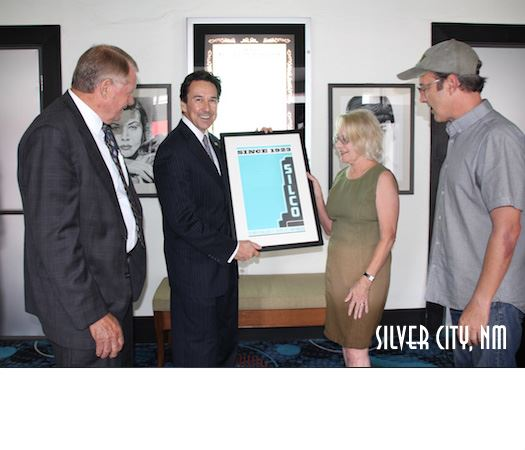 Silver City Mainstreet Presents a Limited Edition Poster to Barela