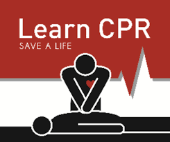 Picture of person doing cpr