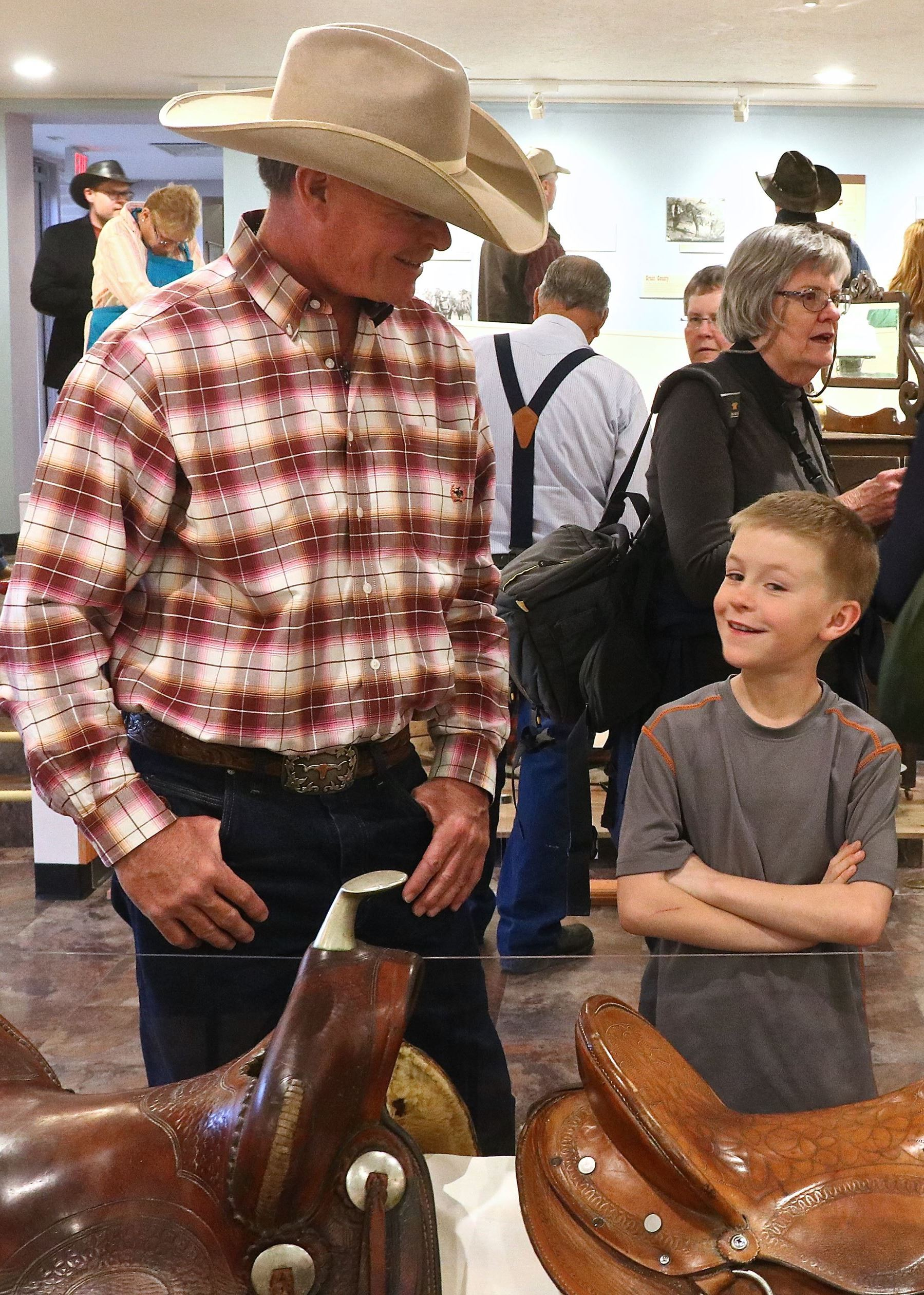Ranching in Grant County Reception